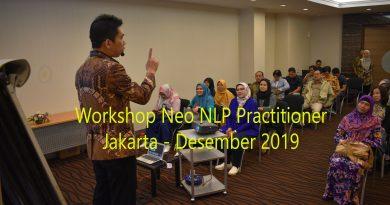 Workshop Neo NLP Practitioner Desember 2019